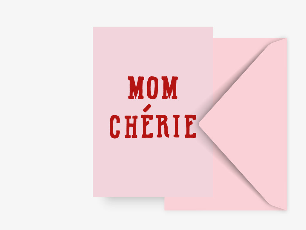Postkarte / Mom Cherie No. 2