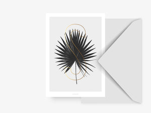 Postkarte / ABC Plants - S