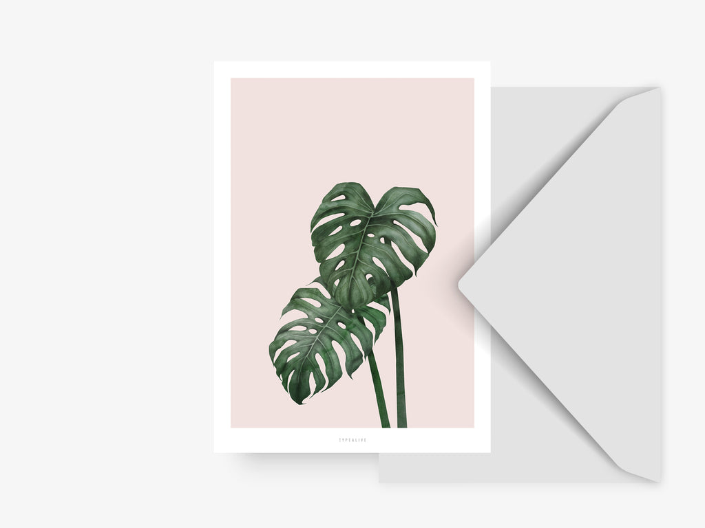 Postkarte / Tropical No. 9