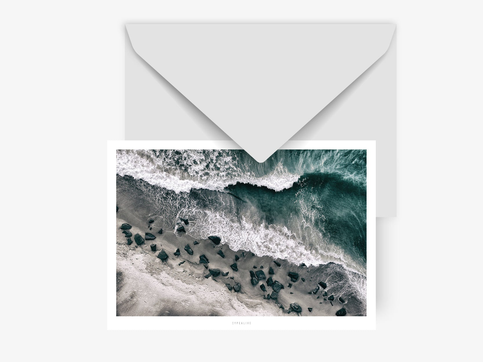 Postkarte / Above The Sea No. 1