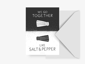 Postkarte / Salt And Pepper