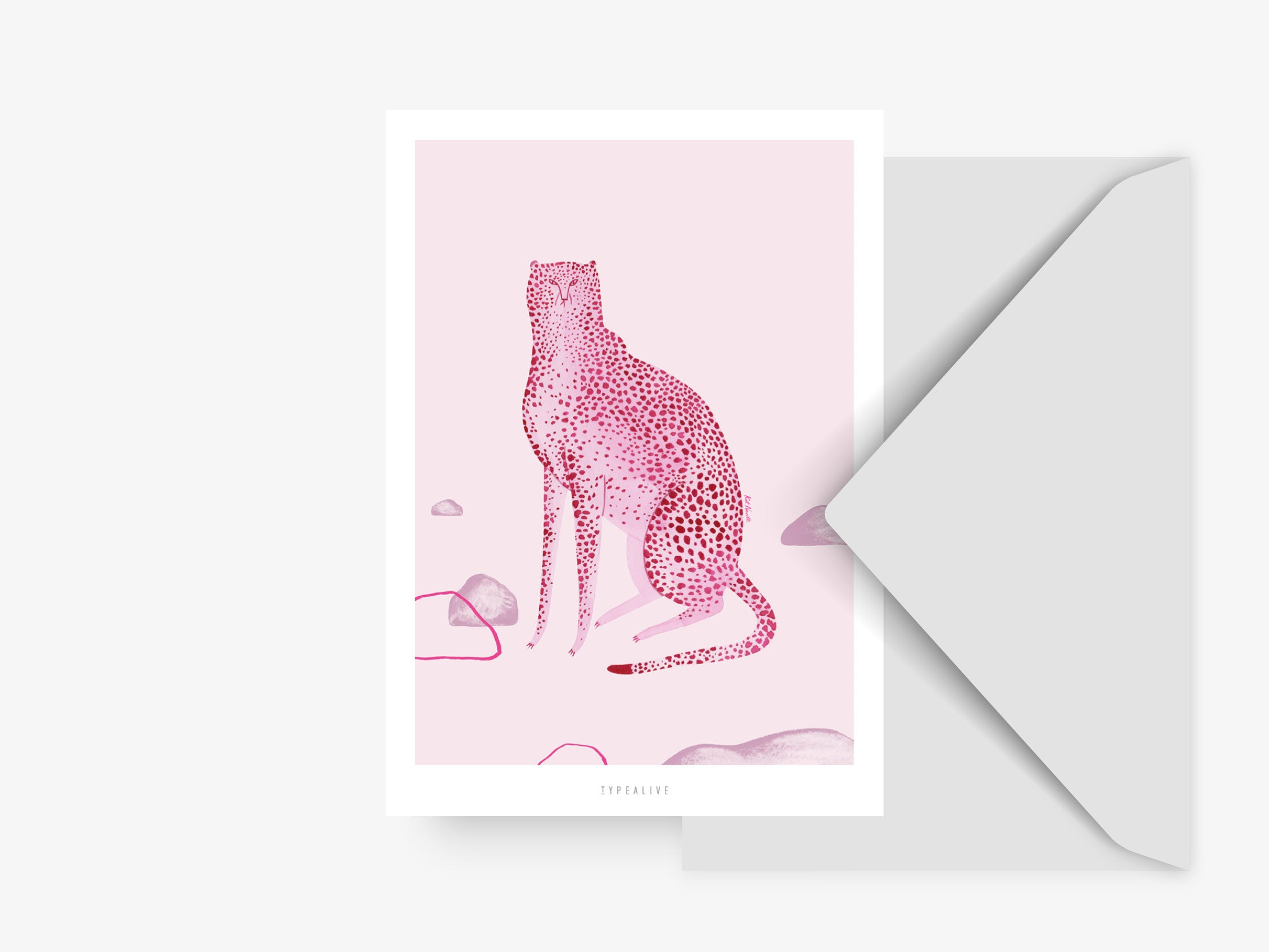Postkarte / Wild Cats No. 1