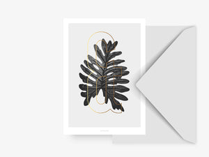 Postkarte / ABC Plants - &