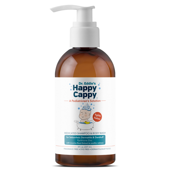 Case of 12 -  Dr. Eddie's Happy Cappy Medicated Shampoo for Children