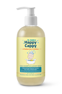 Case of 12 - Dr. Eddie's Happy Cappy Daily Shampoo & Body Wash for Children