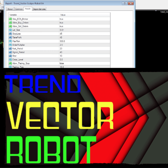 TREND VECTOR SCALPER ROBOT EA