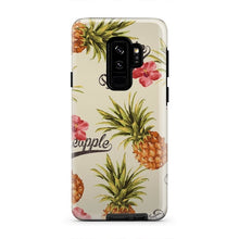 Load image into Gallery viewer, Tropical Hawaiian Pineapple Unique Warm iPhone X