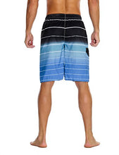 Load image into Gallery viewer, Men's Beachwear Summer Holiday Swim Trunks Quick Dry Striped