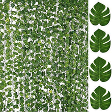 Load image into Gallery viewer, 84FT Artificial Vines with Leaves  Ivy Foliage Flowers
