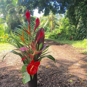 Large Hawaiian Tropical Flower Arrangement