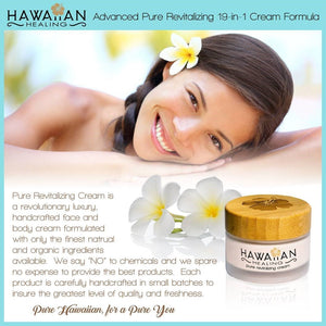 Hawaiian Healing Skin Care Anti-Aging & Hydrating Face Cream with Organic Hawaiian Macadamia Flower Honey and Hawaiian Astaxanthin to Reduce Appearance of Wrinkles & Fine Lines (50g)