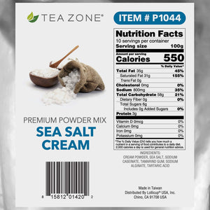 Tea Zone 2.2 lb Sea Salt Cream Powder