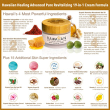 Load image into Gallery viewer, Hawaiian Healing Skin Care Anti-Aging & Hydrating Face Cream with Organic Hawaiian Macadamia Flower Honey and Hawaiian Astaxanthin to Reduce Appearance of Wrinkles & Fine Lines (50g)