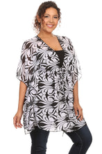 Load image into Gallery viewer, Women's Plus Size Chiffon Beach Dress Swimwear Cover-Up Made in the USA