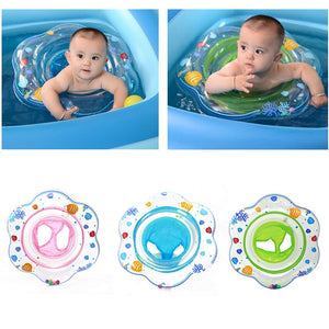 Baby Swimming Seat Ring  Inflatable Infant  Lifebuoy Ring