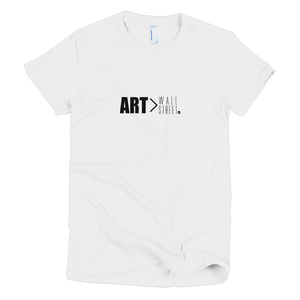Art > Wall Street T-Shirt (Womens)