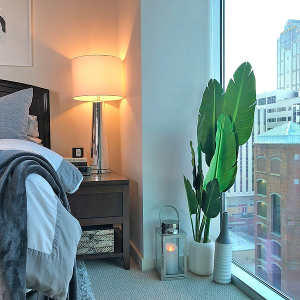 How to Decorate Your Bedroom with Faux Plants