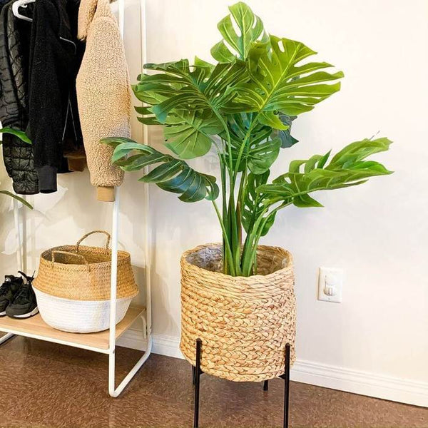 How Do You Style Fake Plants