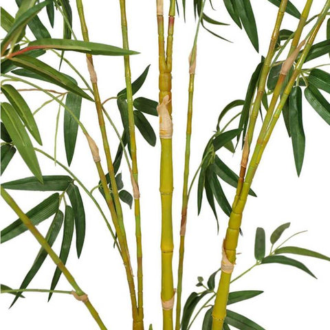 Use artificial bamboo plants for Feng Shui