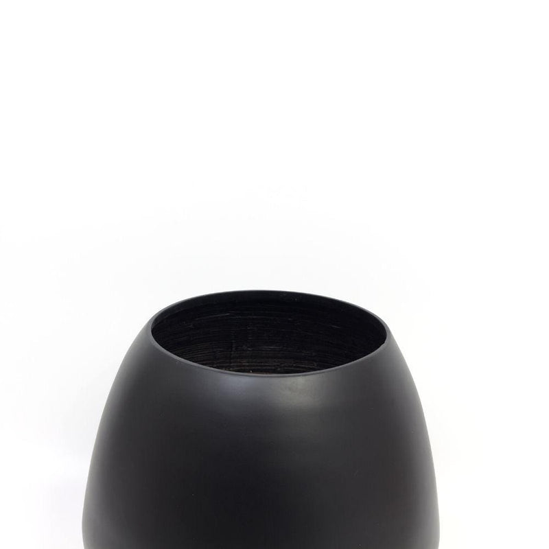 MARGO - BLACK BAMBOO FLOOR PLANTER