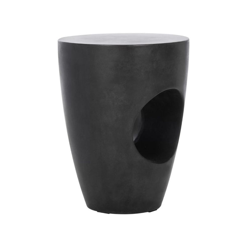 SHIRA BLACK PLANTER WITH HAIRPIN LEGS (61CM)