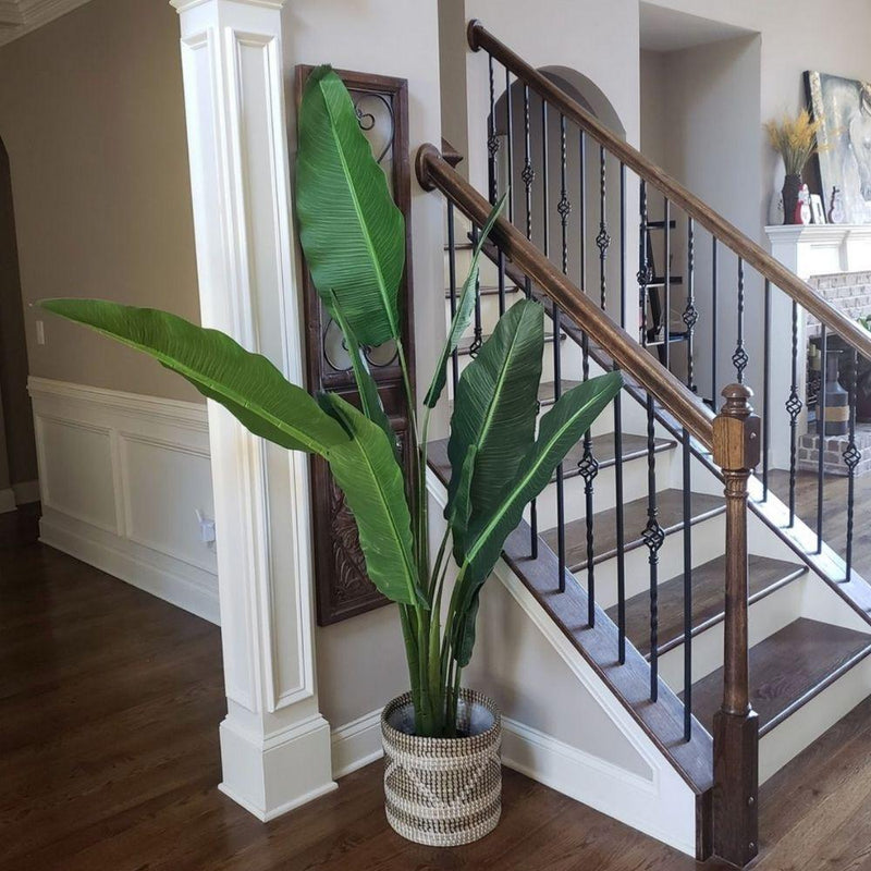 DANI Artificial Travellers Palm Tree Potted Plant (Multiple Sizes)