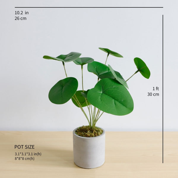 Money Artificial Pilea Peperomioides  Potted Plant
