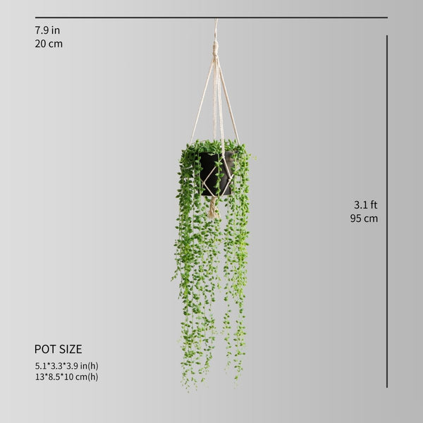 Tumaco Faux Potted Hanging Plant (3.1 Feet)