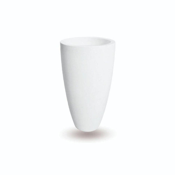 Lazio White Cement Planter (Multiple Sizes) Cement Planter ArtiPlanto