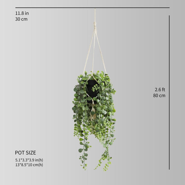 Narino Faux Potted Hanging Plant (2.6 Feet)