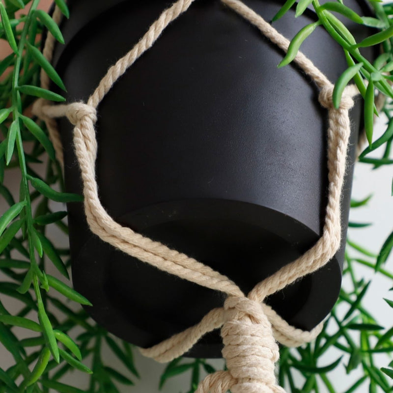 Yopal Faux Potted Hanging Plant (2.6 Feet)