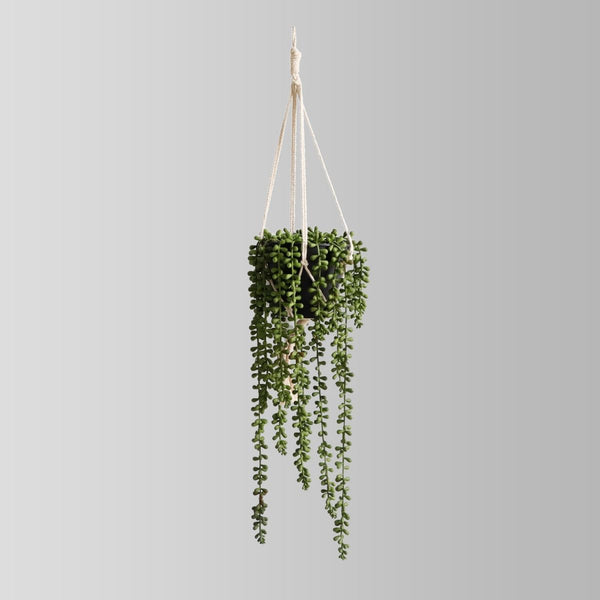 Tulua Faux Potted Hanging Plant (2.6 Feet)