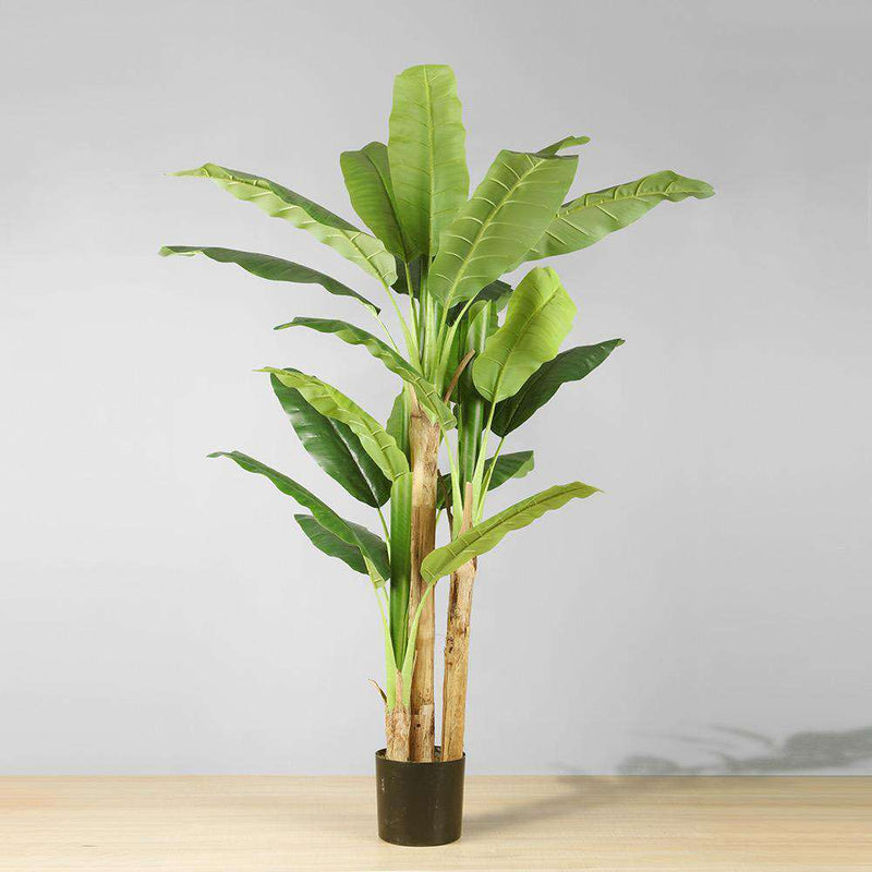 ANNA Artificial Banana Tree Potted Plant (Multiple Sizes) ArtiPlanto