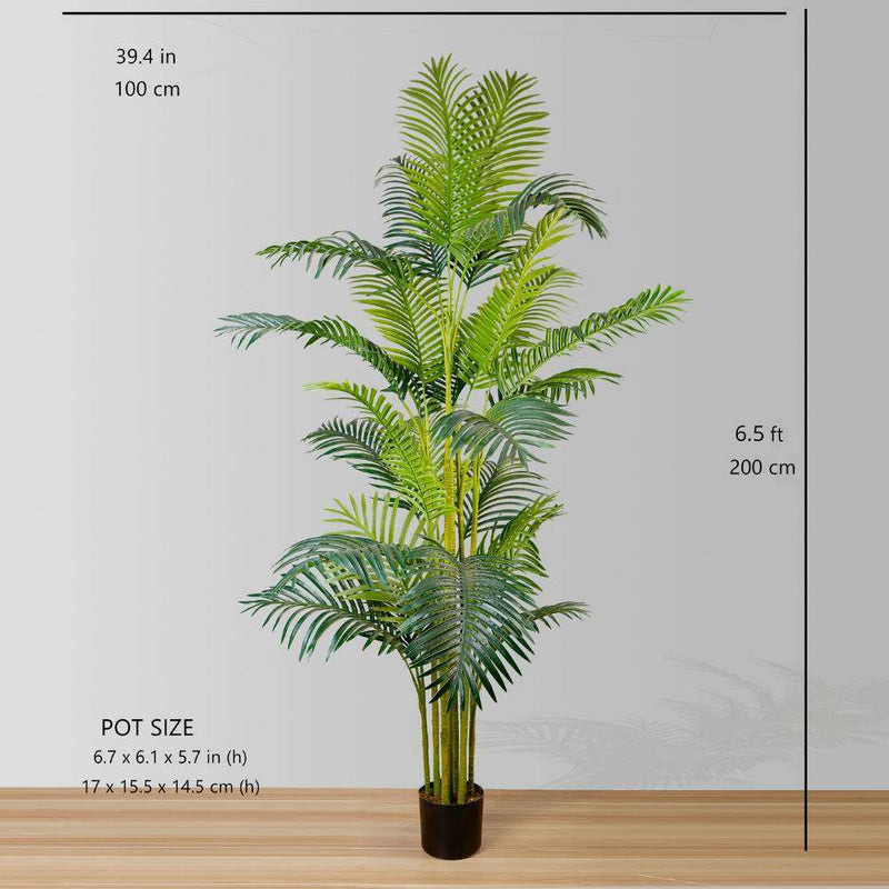 ARLO ARTIFICIAL HAWAII KWAI PALM TREE POTTED PLANT (Multiple Sizes) ArtiPlanto