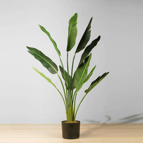 BOHO Artificial Bird Of Paradise Potted Plant 43'' ArtiPlanto