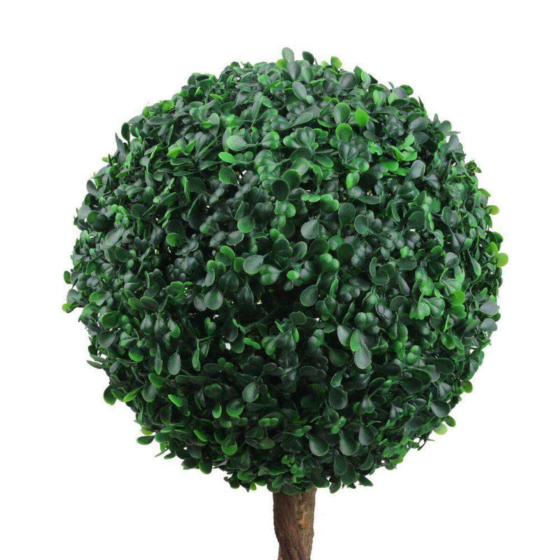 ELY Faux Potted Boxwood Topiary Plant 3' ArtiPlanto