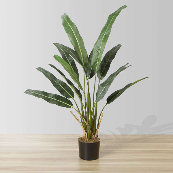 EMMA Artificial Travellers Palm Tree Potted Plant 43'' ArtiPlanto