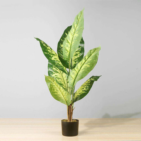 EREN Artificial Evergreen Potted Plant 39'' ArtiPlanto