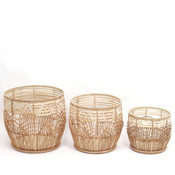Elena Rattan Planter (Multiple Sizes) ArtiPlanto