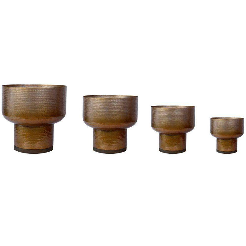 HANA - Brass Mid-Century Mushroom Planter (Multiple Sizes) ArtiPlanto