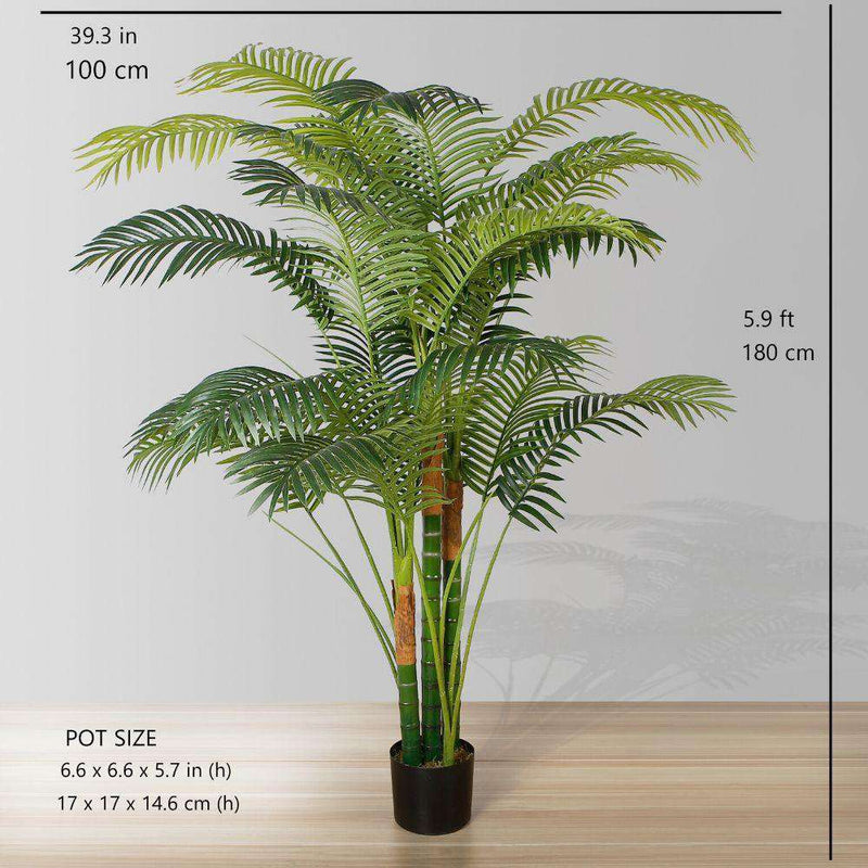 HAWAII Artificial Palm Tree Potted Plant (Multiple Sizes) ArtiPlanto
