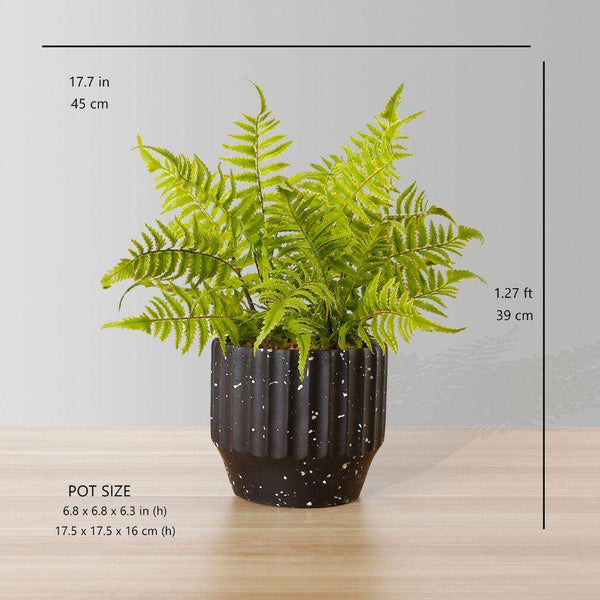 JULA POTTED FAUX FERN ArtiPlanto