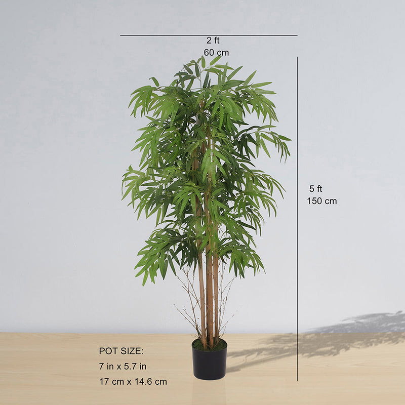 CEJA ARTIFICIAL KOREA BAMBOO POTTED PLANT (MULTIPLE SIZES)