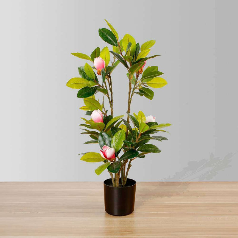 KIRA ARTIFICIAL MAGNOLIA TREE POTTED PLANT 28'' ArtiPlanto
