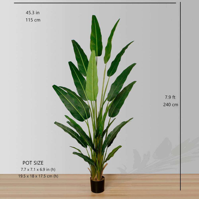 KOLA Artificial Travellers Palm Tree Potted Plant (Multiple Sizes) ArtiPlanto