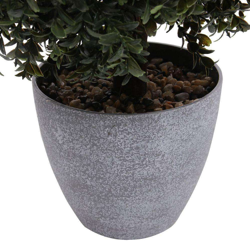 Kingston Faux Potted Cedar Topiary Plant 24'' ArtiPlanto