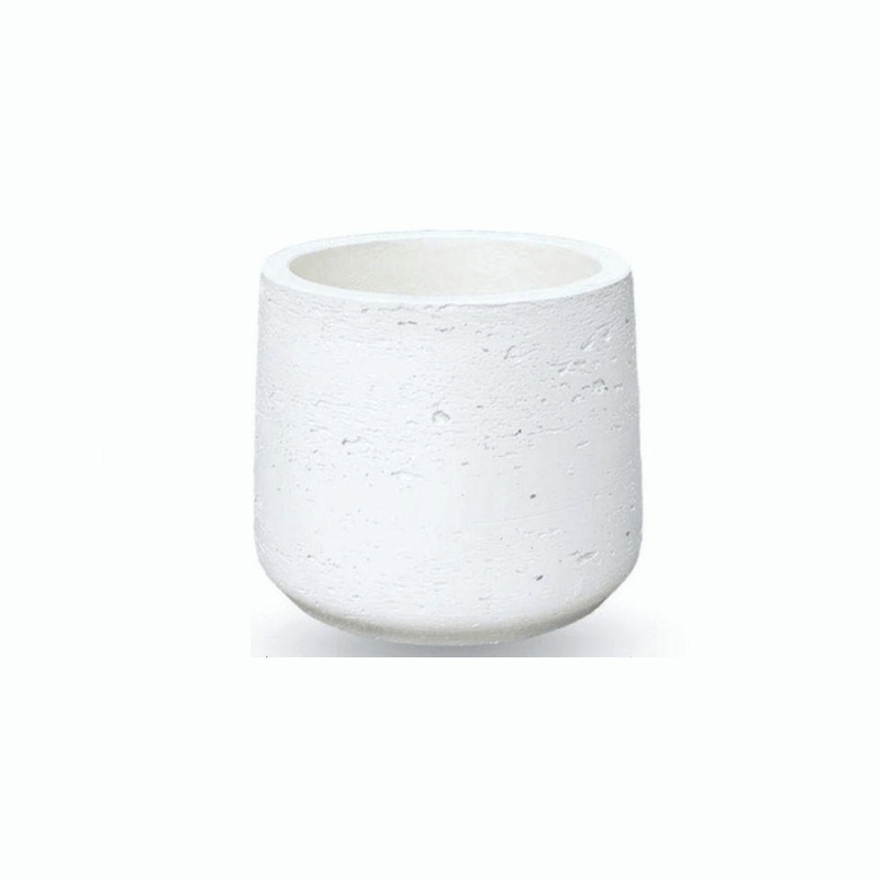 LAZARO WHITE CEMENT PLANTER 13''