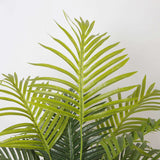 LOLO Artificial Hawaii Palm Potted Plant 3' ArtiPlanto