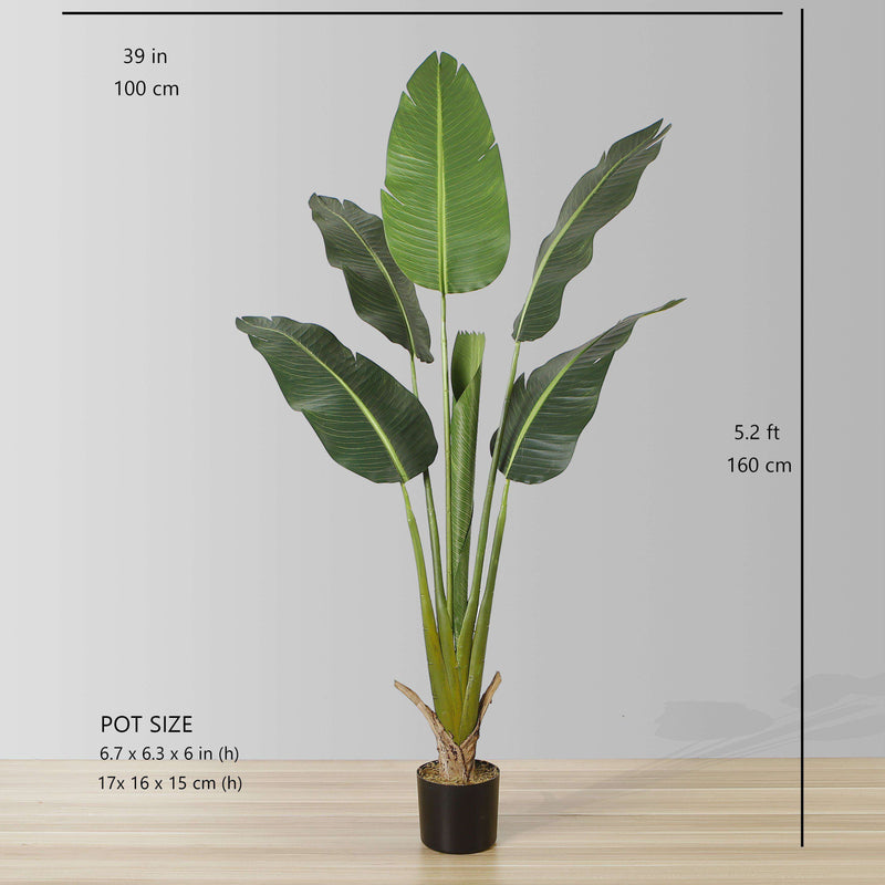 LUCA Artificial Bird Of Paradise Potted Plant (Multiple Sizes) ArtiPlanto