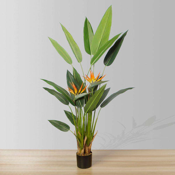 LUZA Artificial Bird Of Paradise Potted Plant (MULTIPLE SIZES) ArtiPlanto